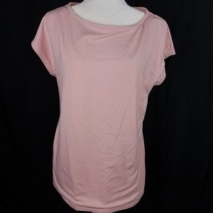 Nwt Talbots Large Pink Blouse